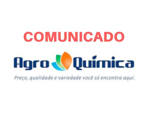 COMUNICADO Agroquímica